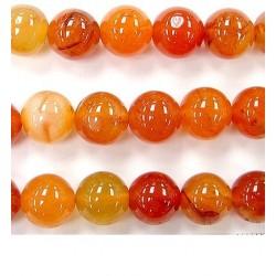 Perles de cornaline