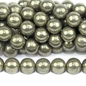 Perles de pyrite
